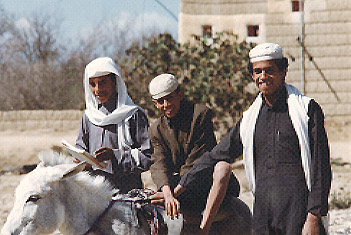 Boys Riding Donkey, Khamis Mushayt, Saudi Arabia