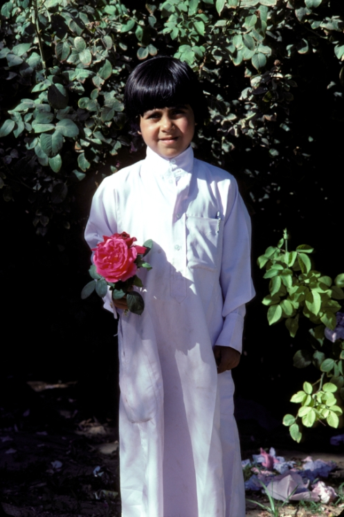 Young Boy Najran 1978 Saudi Arabia