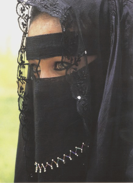 Saudi Woman Veil 38 - Internet