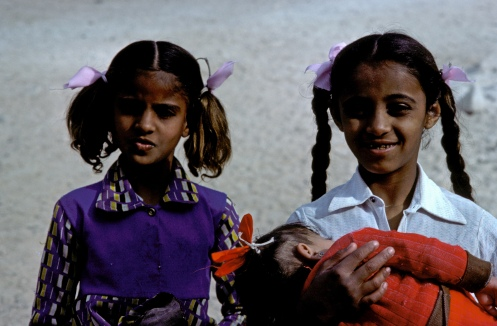 Young Girls Aquaba Jordan
